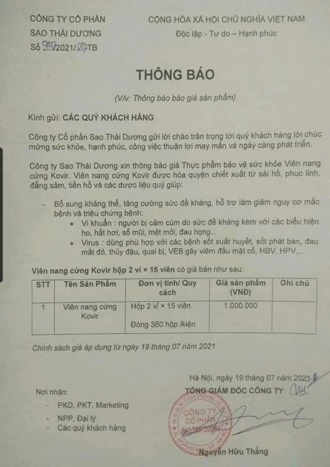 Sao Thai Duong dot ngot tang gia Kovir gap 5 lan: Co truc loi?-Hinh-2