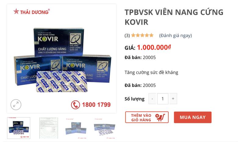 Sao Thai Duong dot ngot tang gia Kovir gap 5 lan: Co truc loi?