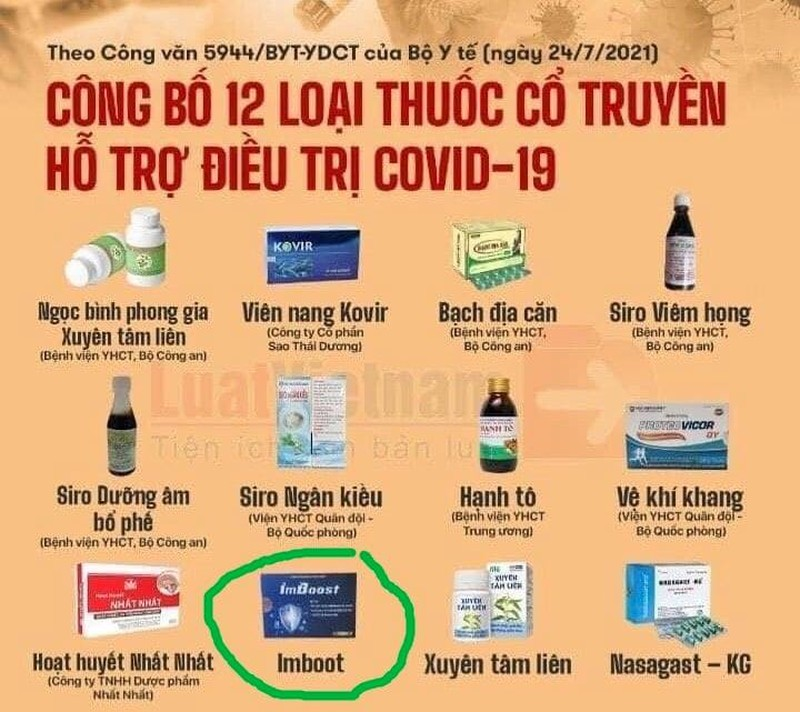 Cong ty CP Y duoc Truong Trong Canh truc loi dich COVID-19?