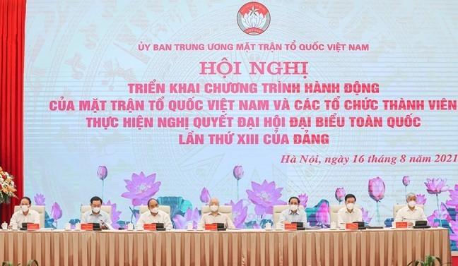 Tong Bi thu Nguyen Phu Trong:
