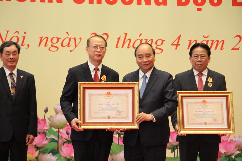 Ong Do Van Chien: VUSTA la to chuc thanh vien tich cuc, co trach nhiem cua MTTQVN-Hinh-2