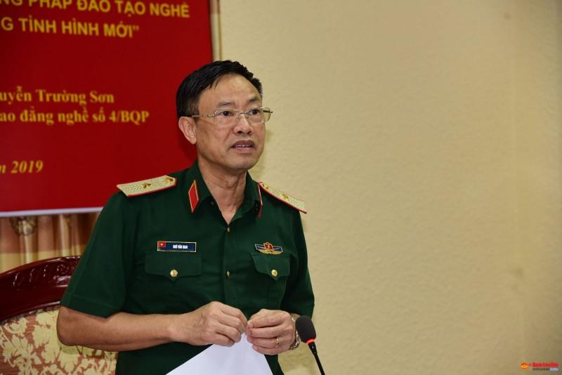 Giai thuong VIFOTEC gop phan doi moi sang tao KHCN cua Bo Quoc phong