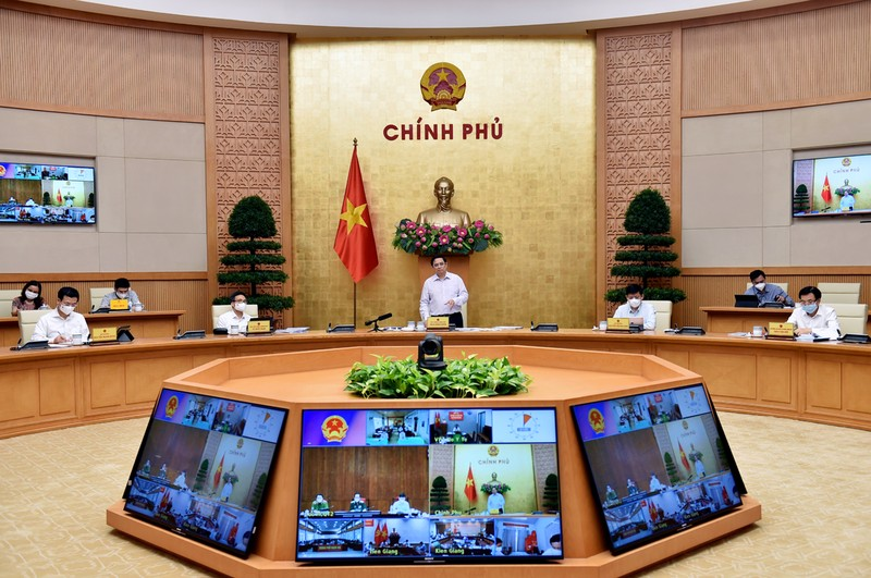 "Thu tuong chan chinh phong dich vi Tien Giang chuyen ""xanh"" sang ""do"""