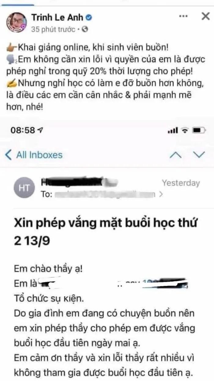 MC, giang vien noi tieng mia mai SV xin nghi hoc: Hieu truong noi gi?-Hinh-2