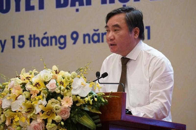 PGS.TS Pham Quang Thao bao cao ket qua thuc hien Nghi quyet Dai hoi XIII cua Dang trong he thong VUSTA
