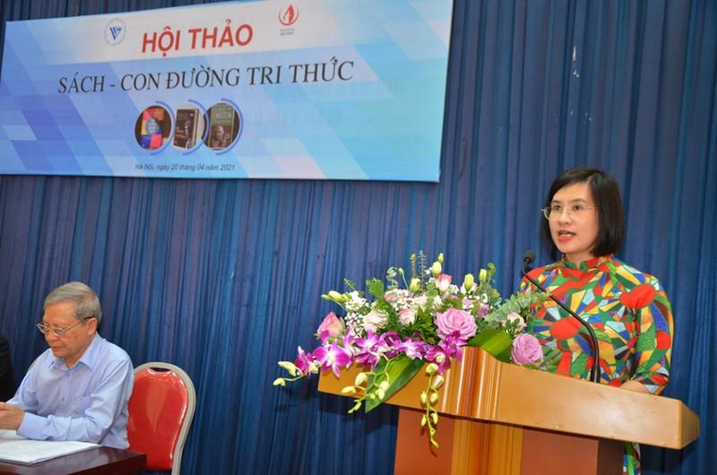 Vi sao noi Nha xuat ban Tri thuc la NXB cua doi ngu tri thuc Viet Nam?