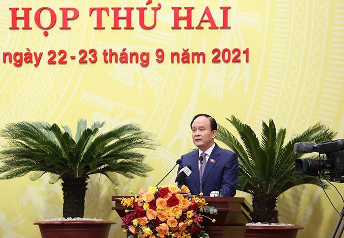 HDND TP Ha Noi xem xet Nghi quyet dau tu duong vanh dai 4