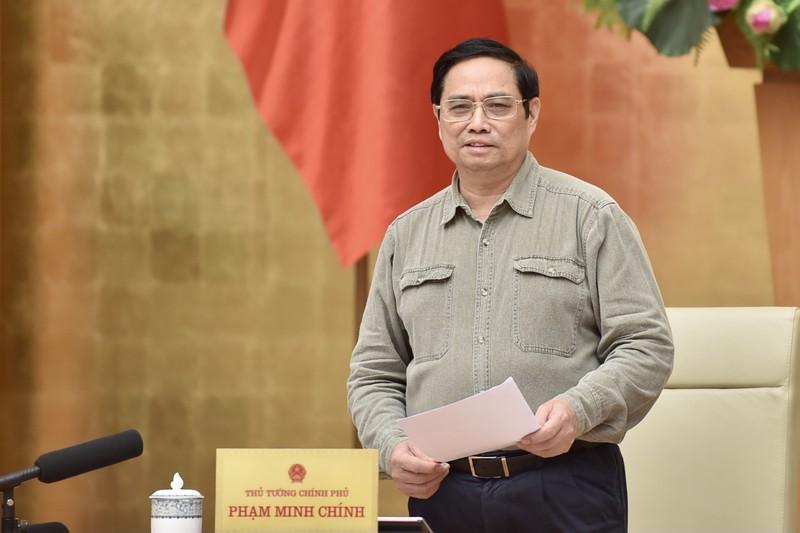 Thu tuong Pham Minh Chinh: Khong de moi dia phuong lam mot kieu