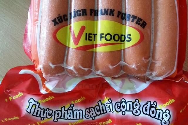Xuc xich Viet foods chua chat gay ung thu: Co the nhiem doc nang