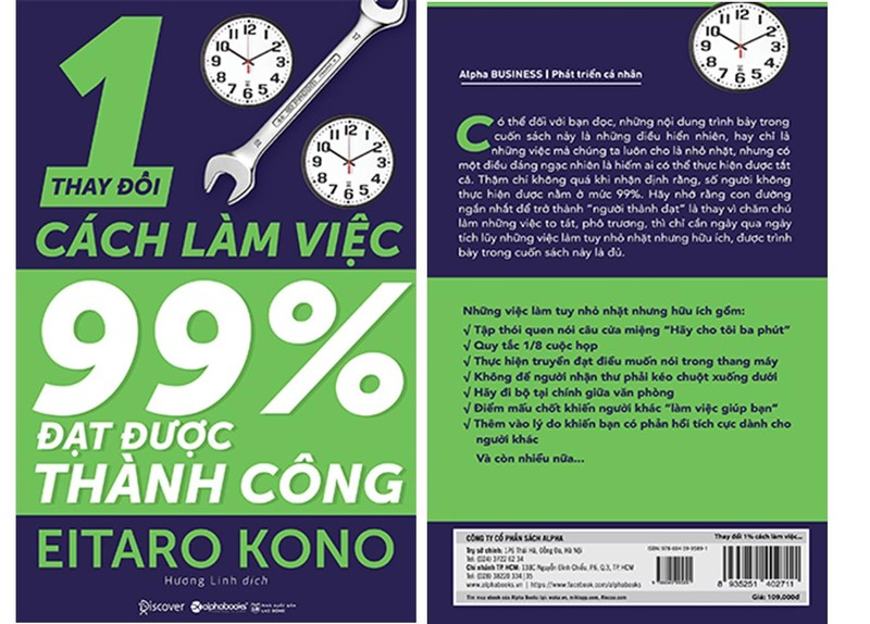 Thay doi 1% cach lam viec, 99% dat thanh cong