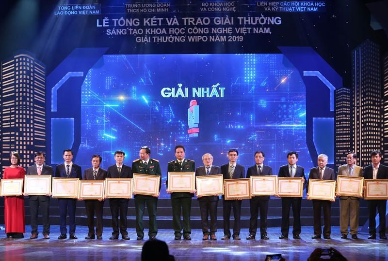 45 cong trinh doat Giai thuong Sang tao Khoa hoc Cong nghe Viet Nam 2020
