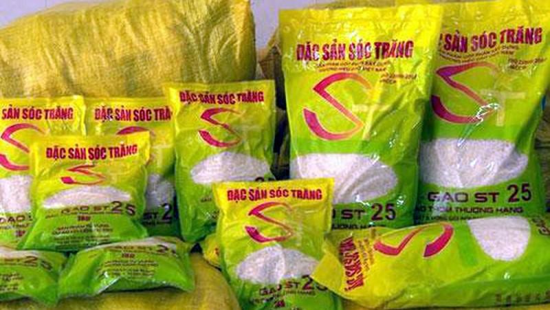 Nguy co thuong hieu gao ST25 bi chiem doat: Dung chi do loi cho doanh nghiep
