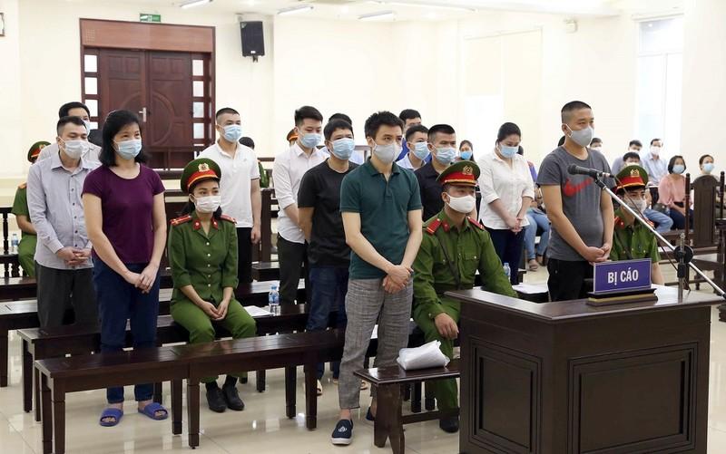11 bi cao trong dai an Nhat Cuong xin giam nhe hinh phat