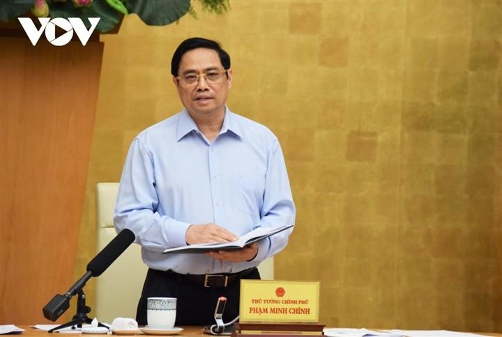 Thu tuong: Rut gon ve mat thu tuc hanh chinh voi vaccine trong nuoc
