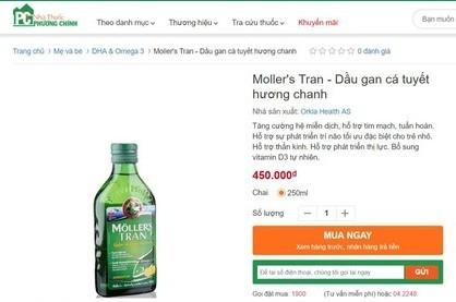 Trang web Nha thuoc Phuong Chinh co dau hieu lua doi nguoi tieu dung?