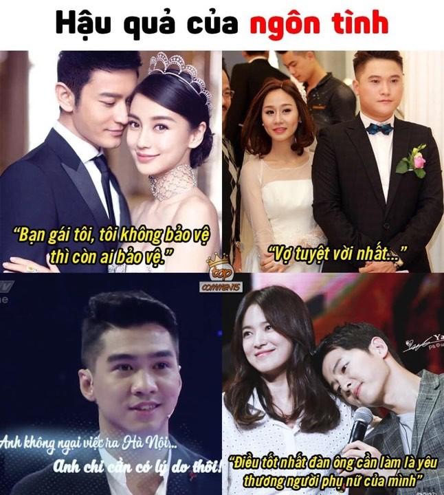 Ly do Tram Anh, Pew Pew bat ngo bi reo ten cung Song Hye Kyo va Song Joong Ki