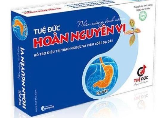 Canh bao quang cao TPBVSK Tue Duc Hoan Nguyen Vi vi pham qui dinh