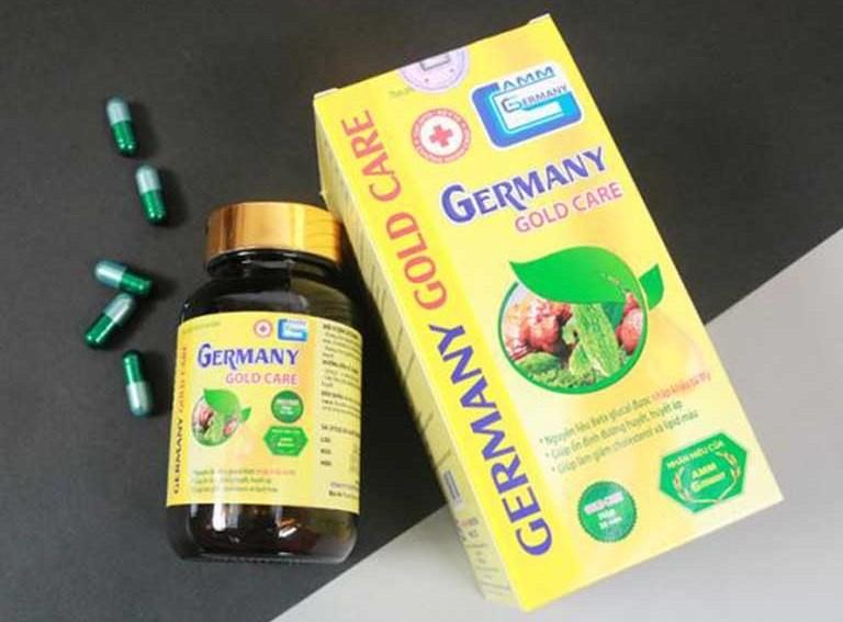 TPBVSK Germany Gold Care vi pham quang cao, xu phat the nao?
