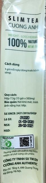 "Tra Slim Cuong Anh lai ""dinh phot"" vi pham quy dinh an toan thuc pham-Hinh-3"