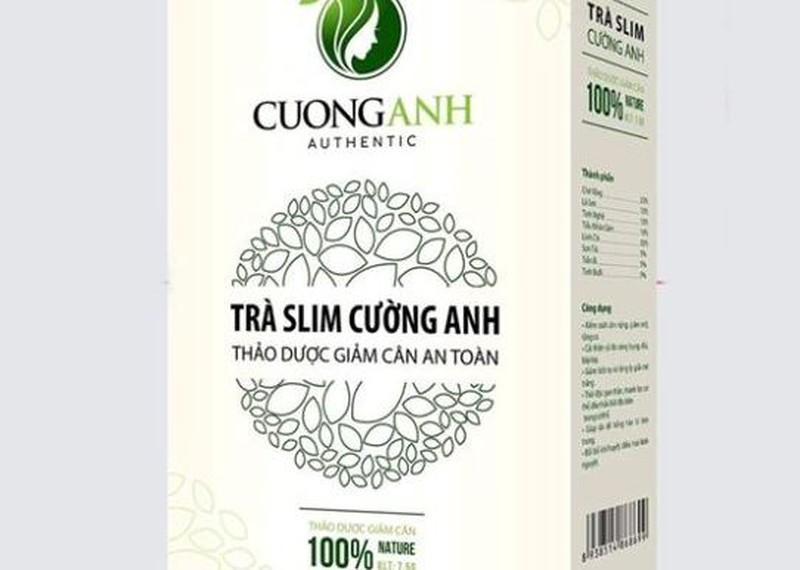 """Tra Slim Cuong Anh lai """"dinh phot"""" vi pham quy dinh an toan thuc pham"""