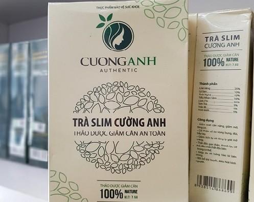 Ngoai Tra Slim Cuong Anh, san pham giam can nao chua Sibutramine nguy hai?