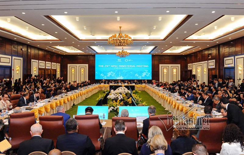 Toan van tuyen bo chung Hoi nghi Lien Bo truong Ngoai giao - Kinh te APEC