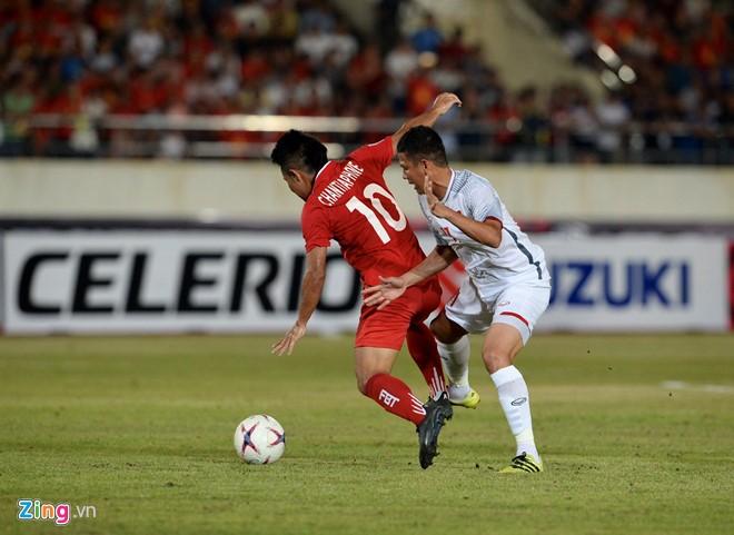 Doi tuyen Viet Nam 3-0 Lao: Chien thang xung dang cho thay tro Park Hang Seo-Hinh-4