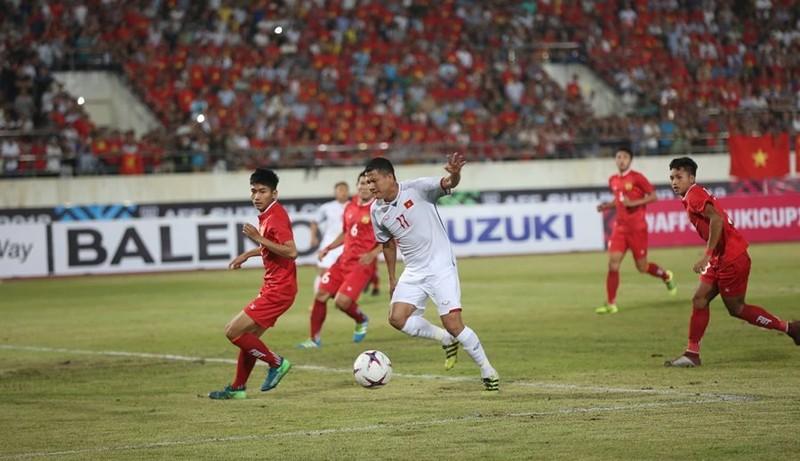 Doi tuyen Viet Nam 3-0 Lao: Chien thang xung dang cho thay tro Park Hang Seo-Hinh-5