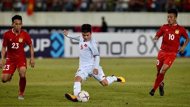 Doi tuyen Viet Nam 3-0 Lao: Chien thang xung dang cho thay tro Park Hang Seo