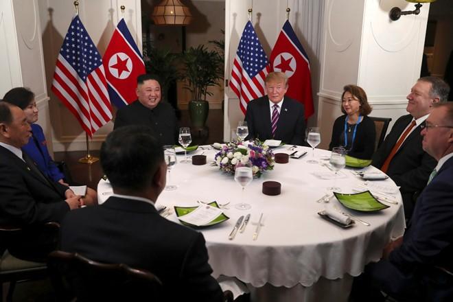 Thuong dinh My - Trieu: Chuong trinh nghi su 28/2 Tong thong Trump - Chu tich Kim Jong-un-Hinh-2