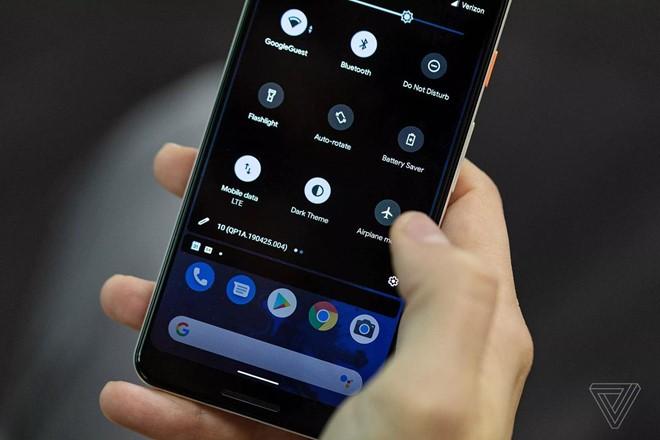 Top dien thoai dau tien nhan ban cap nhat Android Q
