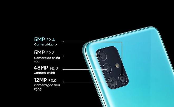 Camera chup can – macro tren Galaxy A51 co gi