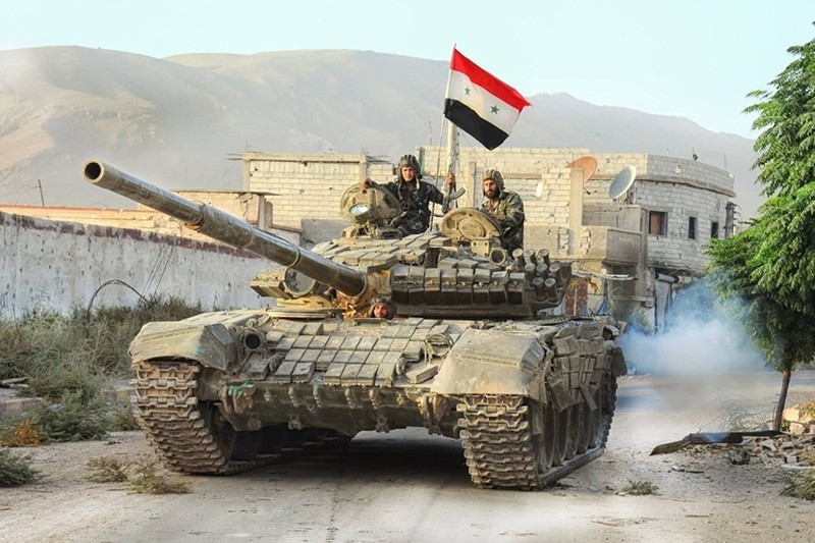 Luc luong Nga-Syria chuan bi tan cong phien quan o tinh Idlib