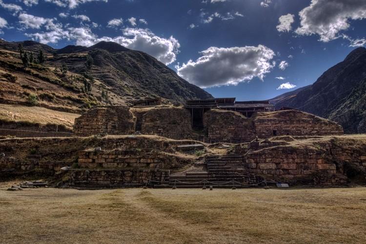 Bi mat ngoi den co Chavin day ma luc o Peru