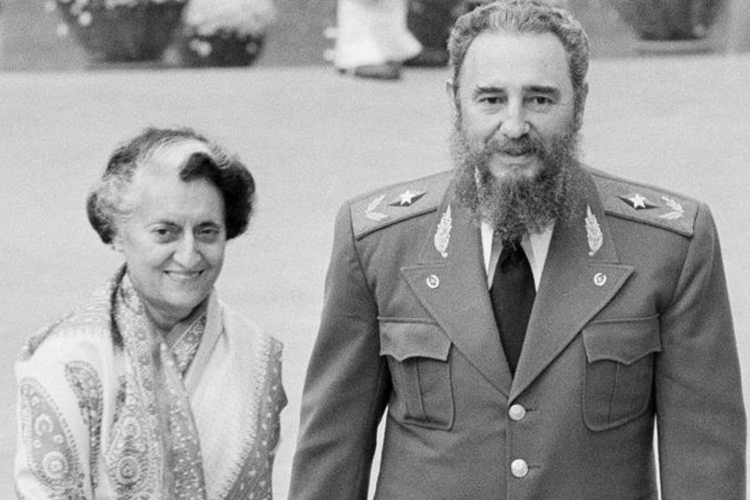 Lanh tu Fidel Castro: Nguoi ban lon cua nhan dan An Do