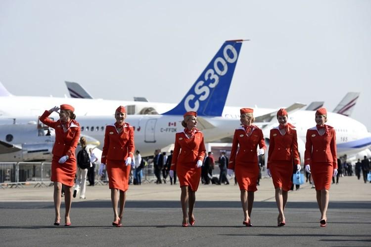 Ngam dan nu tiep vien lam nen thuong hieu Aeroflot-Hinh-7
