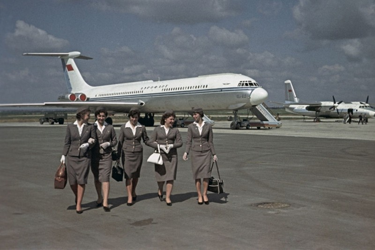 Ngam dan nu tiep vien lam nen thuong hieu Aeroflot