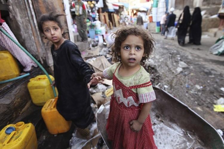Thang Ramadan o Yemen: Nhin an ban ngay, doi khat ban dem