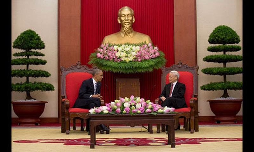Dau an cua Tong thong My trong nhung chuyen tham chinh thuc Viet Nam-Hinh-3