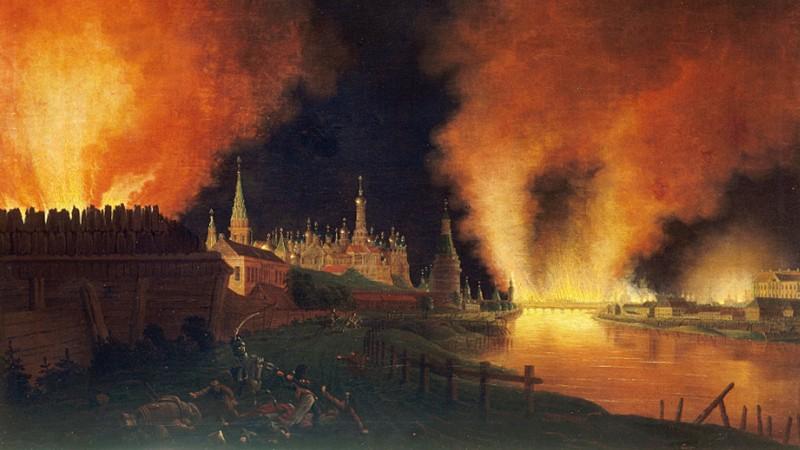 Vi sao Napoleon khong the lam no tung cung dien Kremlin?