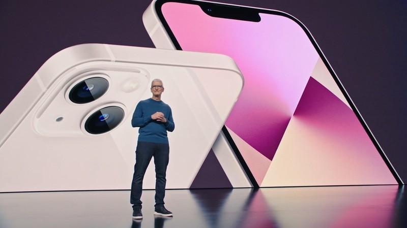 Apple ra mat iPhone 13 voi pin dai ca ngay, camera moi