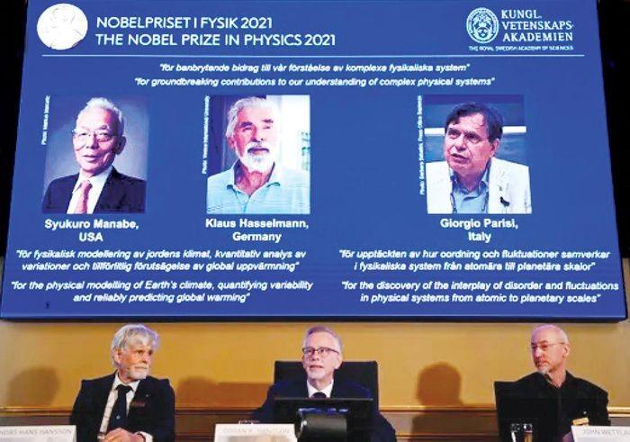 Giai Nobel Vat ly 2021: Vinh danh phat hien ve su nong len toan cau
