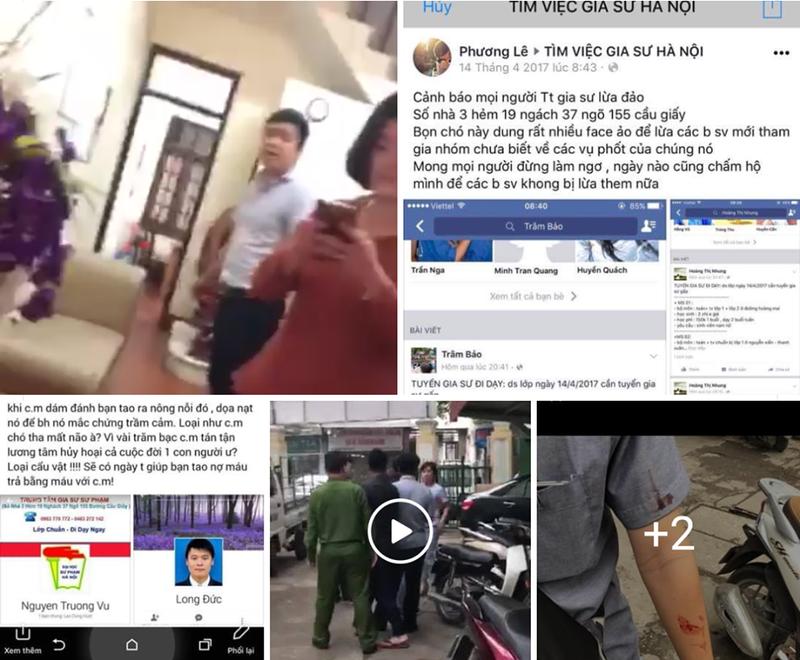 Ha Noi: Giam doc trung tam gia su danh sinh vien nhap vien-Hinh-2