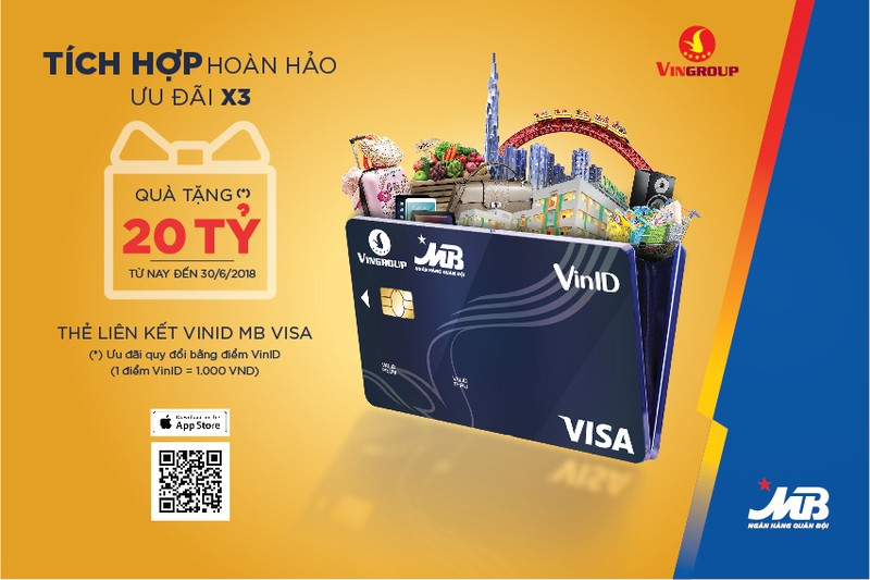 Ra mat the lien ket VINID-MB Visa