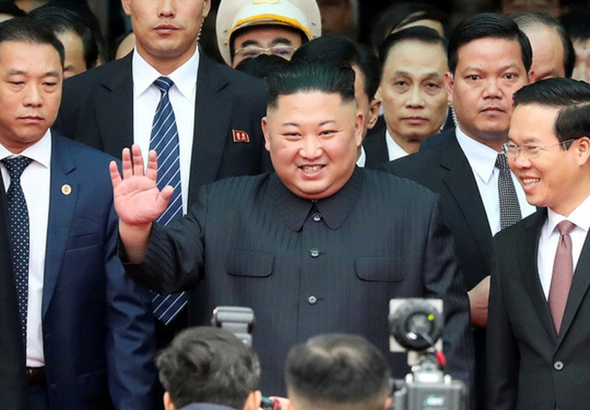 Chu tich Trieu Tien Kim Jong-un tham huu nghi chinh thuc Viet Nam