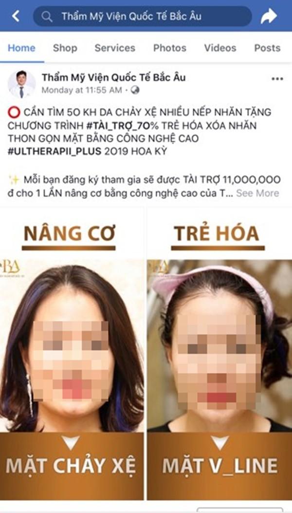 TMV Quoc te Bac Au quang cao lua dao khach hang?