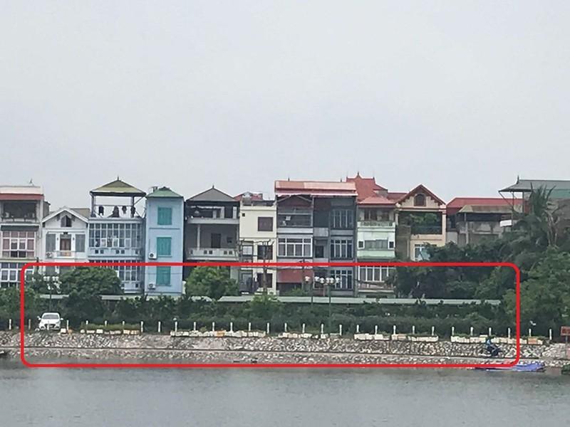 """Ha Noi: """"Loan"""" cong trinh trai phep tren dat nong nghiep phuong Dinh Cong"""