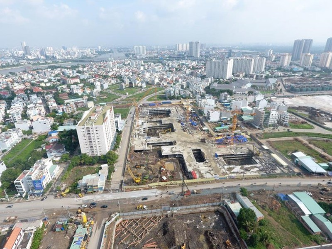 Du an Laimian City o Sai Gon bi phat vi xay khong phep-Hinh-2