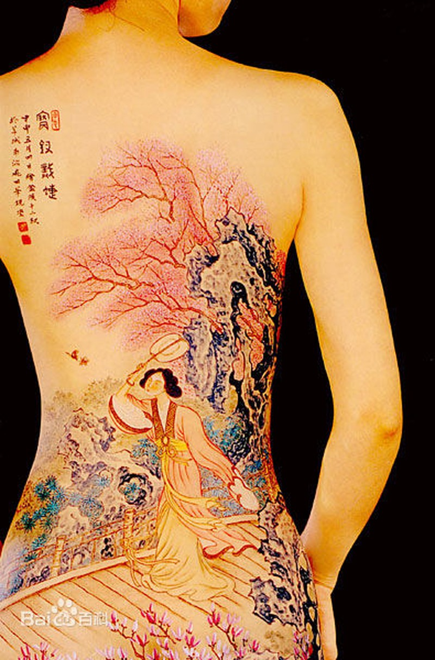 Su that tran trui ve nghe nguoi mau khoa than body painting-Hinh-5