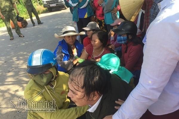 Nu sinh Quang Tri bi xe tai can tu vong, cha me biet tin nga quy-Hinh-2